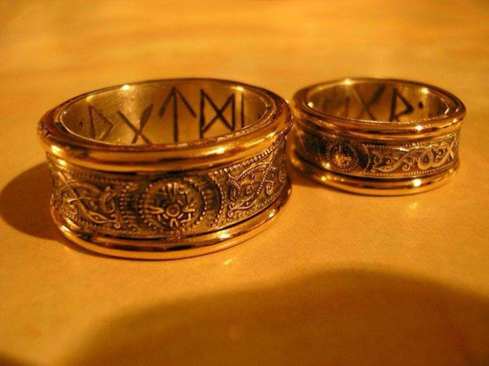 Norse Wedding Rings Maybe some day Pinterest Matrimonio