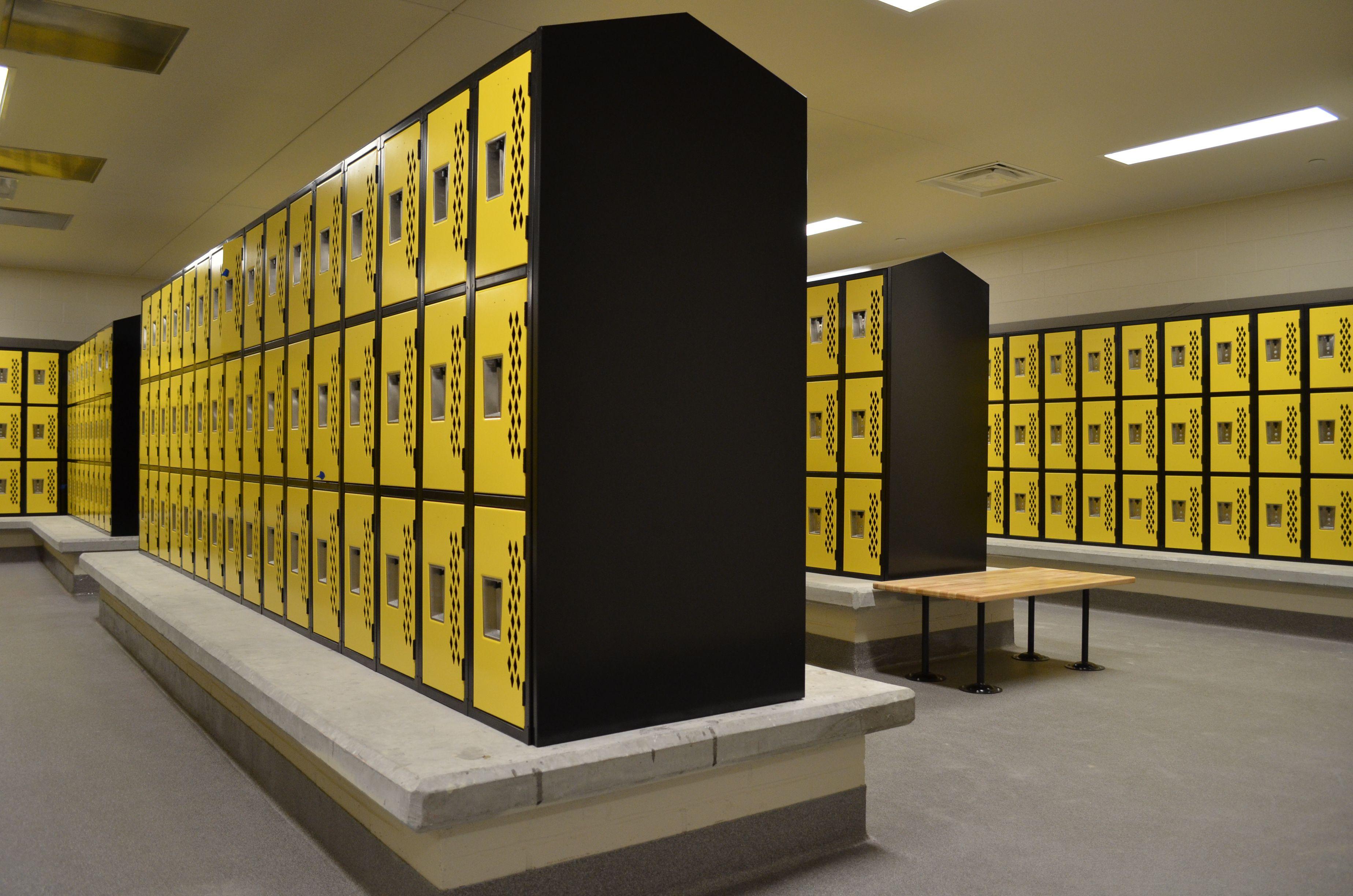 The new kellam high school in virginia beach locker rooms - Interior design schools in atlanta ...