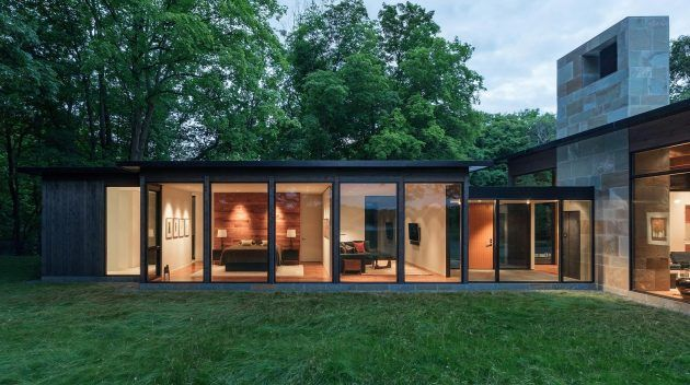 Woodland house by altus architecture in minnesota usa also dream rh pinterest