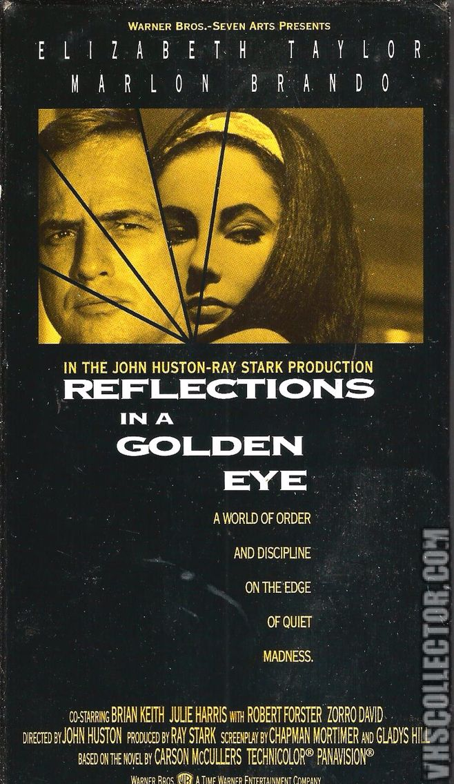 Reflections In A Golden Eye 1967, Elizabeth Taylor & Marlon Brando