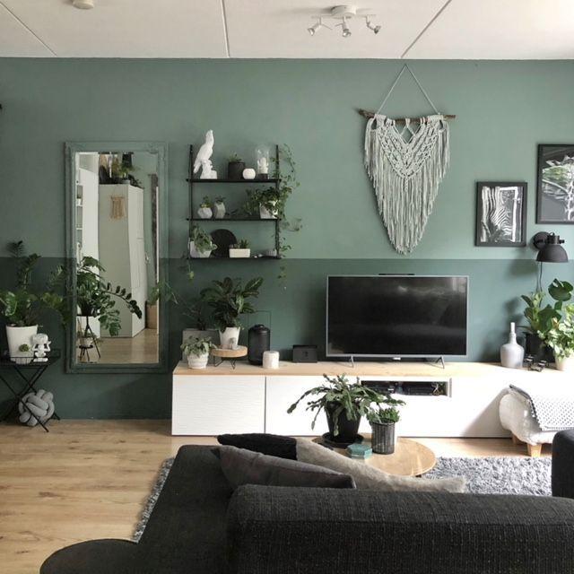 Groene Inspiratie Homeofsha Schilder Jeny Kunst Huis Interieur Woonkamer Inspiratie Thuis Woonkamer