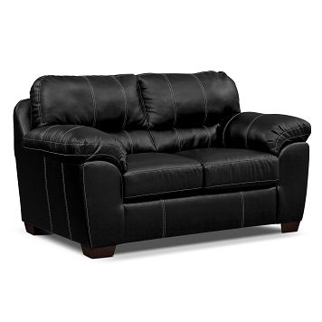 Cool American Signature Furniture Colton Leather Loveseat Short Links Chair Design For Home Short Linksinfo