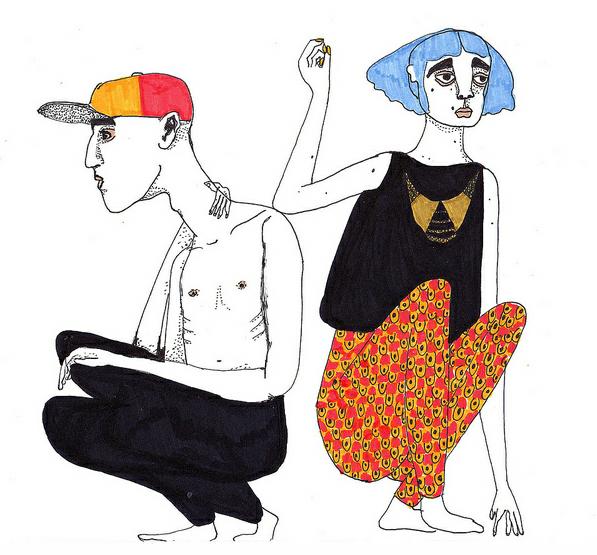 Im in love with Ylva Howard's drawings