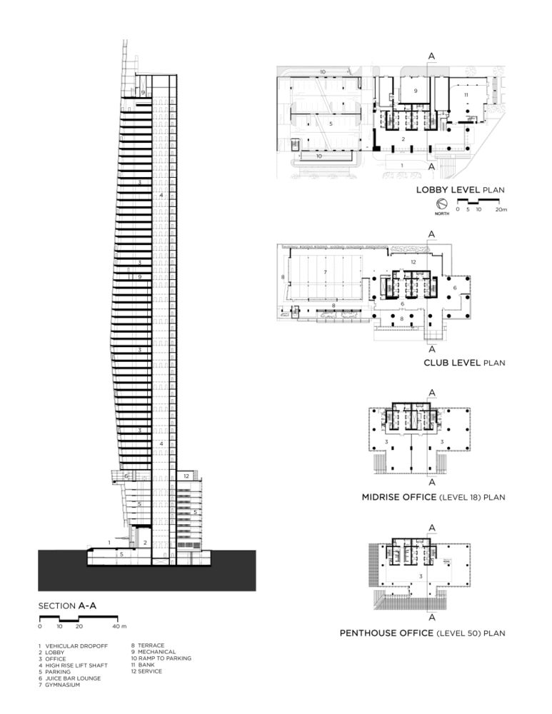 Gallery of Vision Tower at Business Bay   tvsdesign - 8 - bar business plan