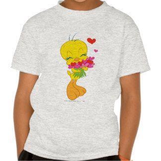 Tweety Valentine Hearts T Shirt.