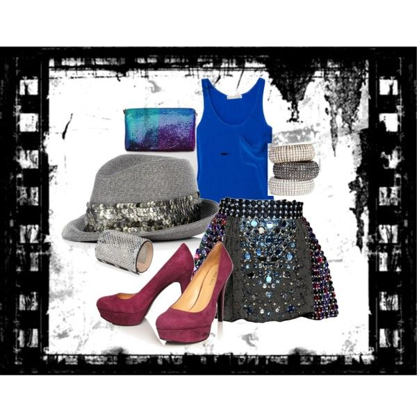 Judy's Going Cattin'. My mom's Polyvore outfit!