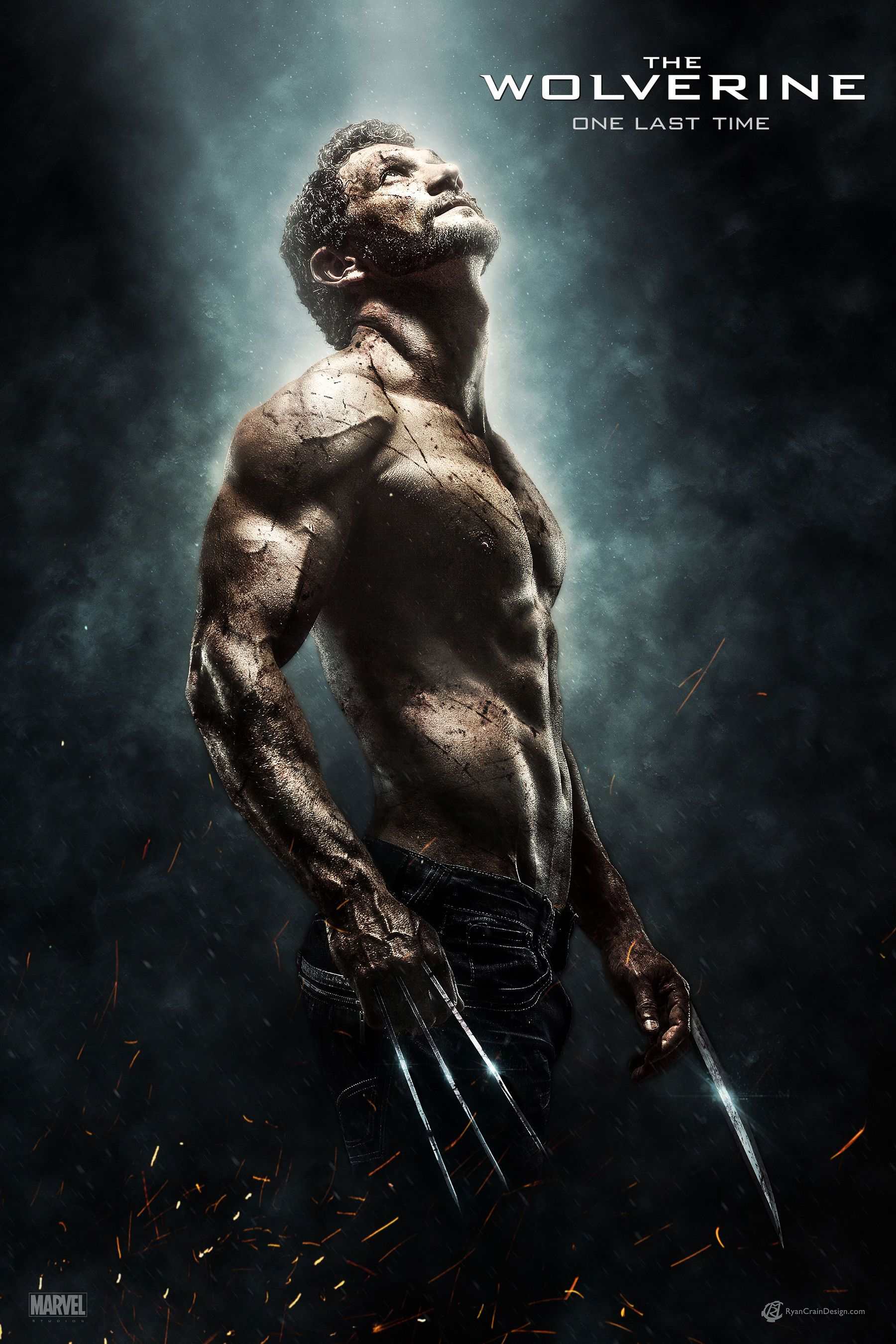 4f18850650b THE WOLVERINE: One Last Time' Movie Poster | Wolverine Concept ...
