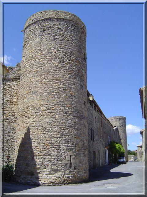 La cité fortifiée de Saint-Laurent-la-Vernède dans le Gard est mystérieuse. Elle possède encore ses longues courtines et ses rondes tour d'angle. Cette construction a gardé sa porte fortifiée formant un sas. Le plus surprenant sont les habitats dans la cité et mes chemins de ronde encore visibles. --> Quand allez vous la visiter ?