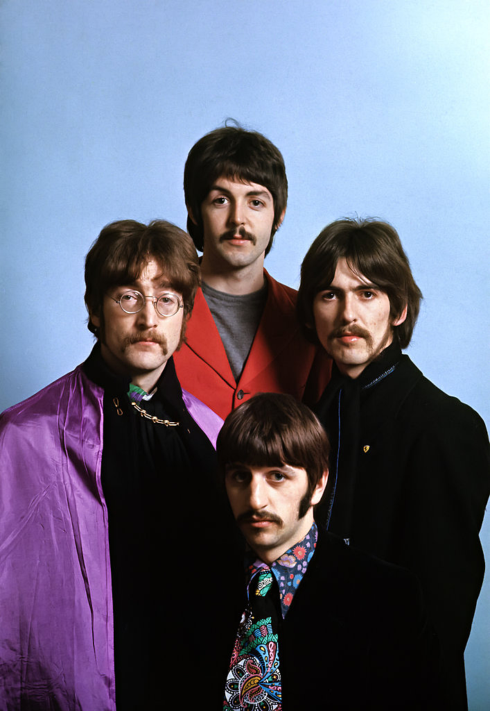 1967mccartney: The Beatles photographed by Henry Grossman, 1967.