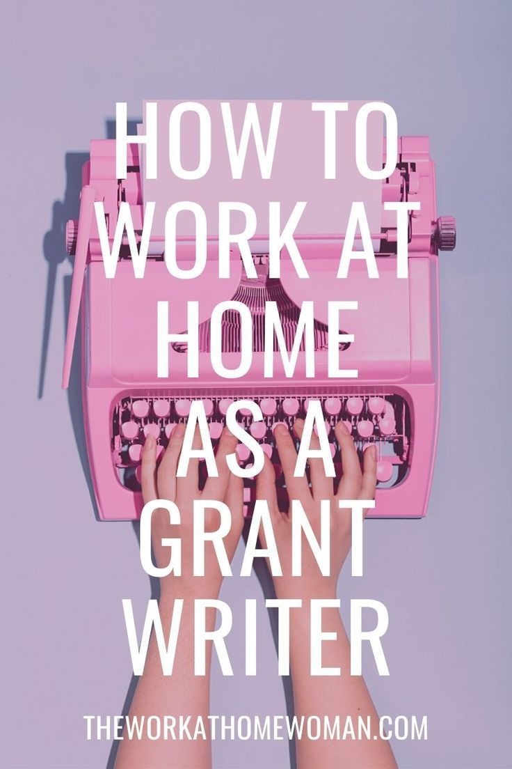 How to Become a Successful Work-at-Home Grant Writer  Grant