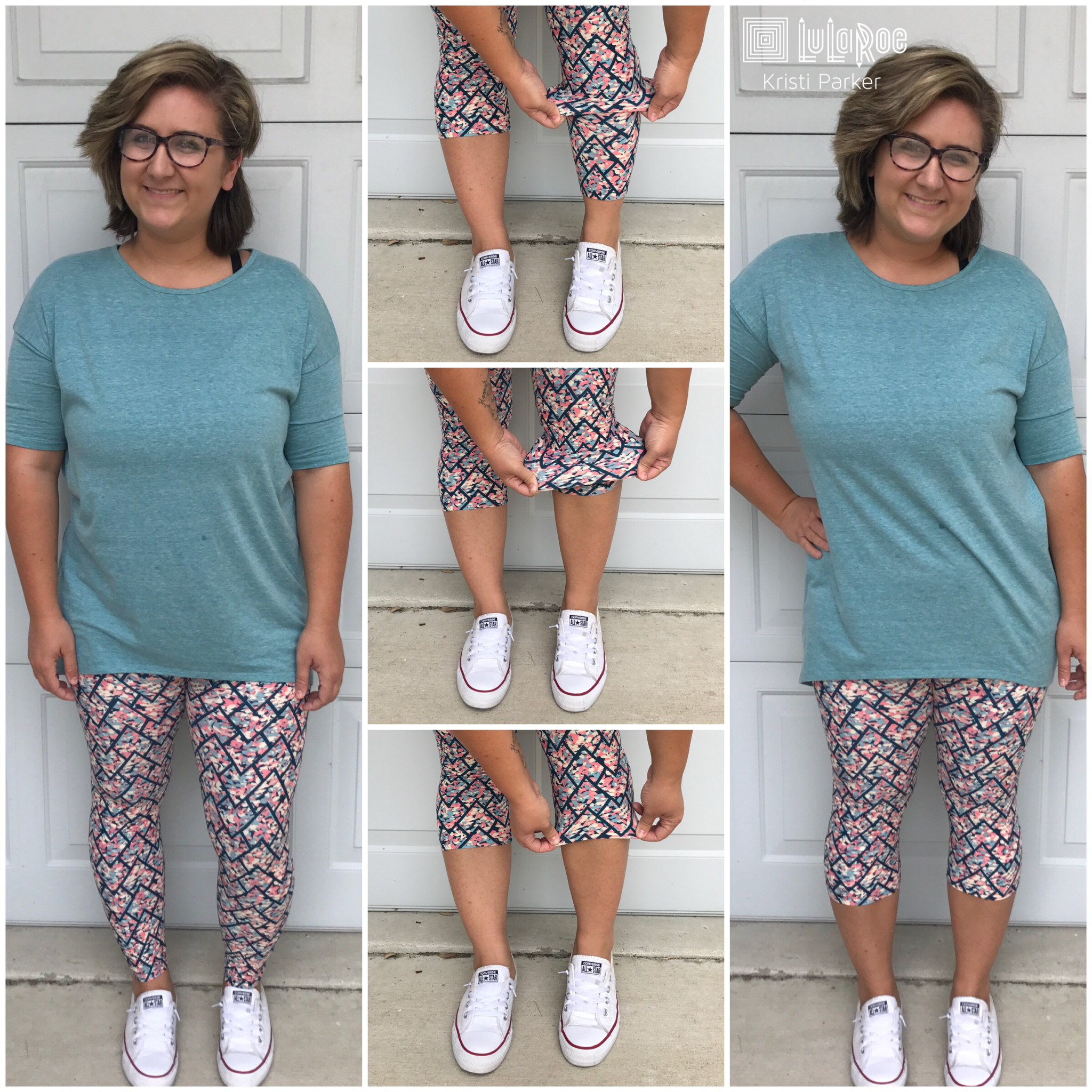 66c3ddada9 Make your LuLaRoe leggings into capris! A great way to wear them during the  hot summer months!