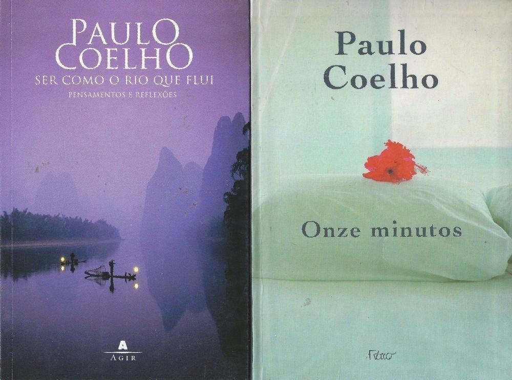 Paulo Coelho Portuguese Language X2 Ser Como O Rio Que Flui Onze