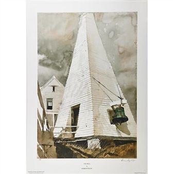 Fog Bell By Andrew Wyeth