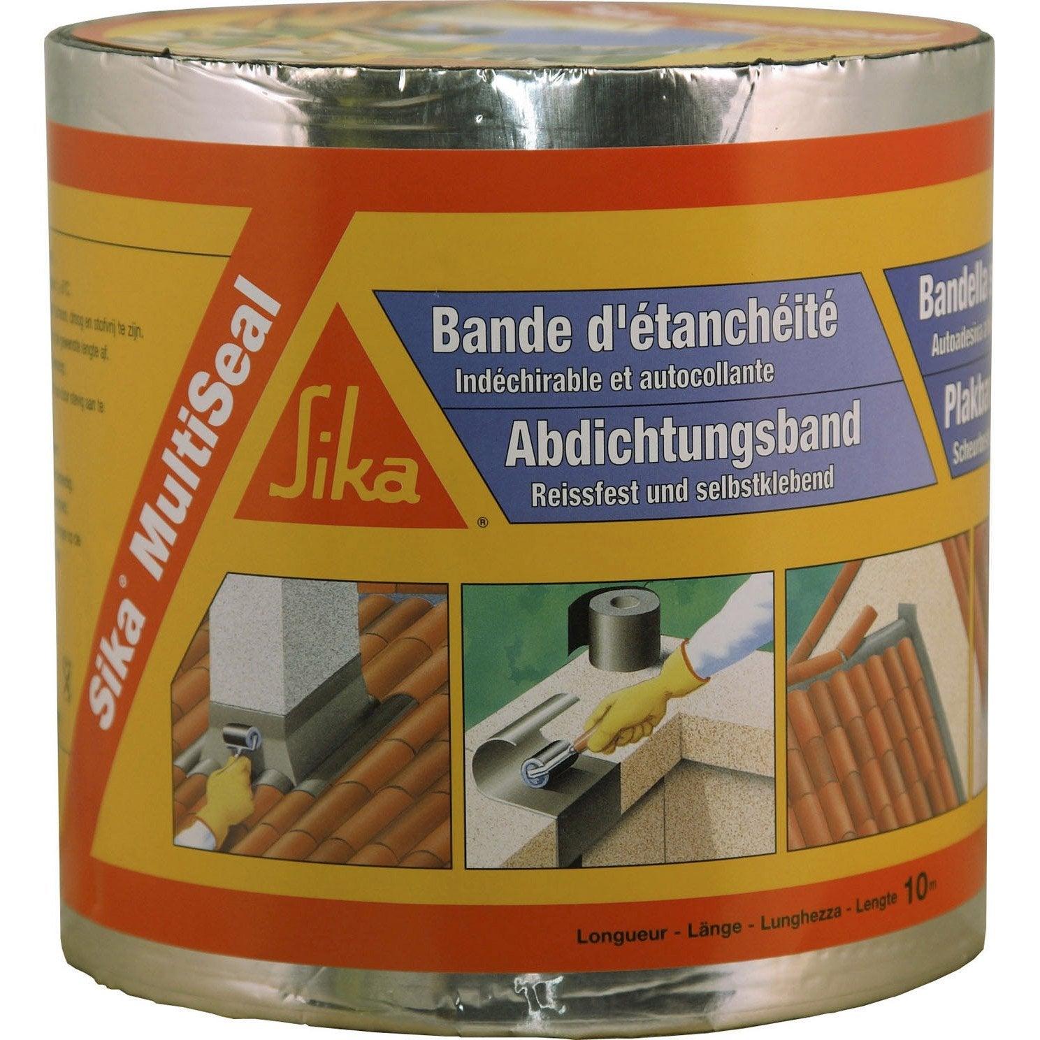 Bande Adhesive D Etancheite Sika Multiseal L 10 X L 0 15 M 1151 G M Etancheite Terrasse Etancheite Et Revetement Terrasse