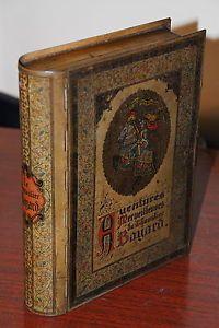 Belle-ancienne-grande-boite-en-tole-lithographie-livre-le-chevalier-bayard