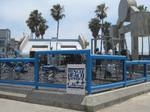 Muscle Beach Venice California Sand Sample   eBay