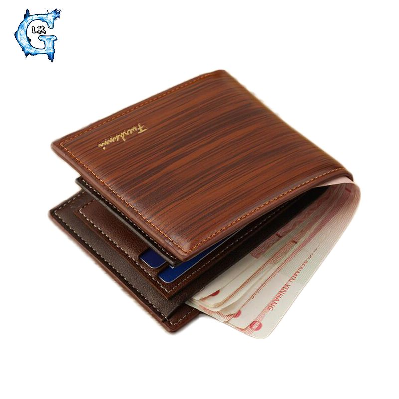 GLIKONG 2017 New Men\'s Wallets Coffee Purse For Men Business Card ...