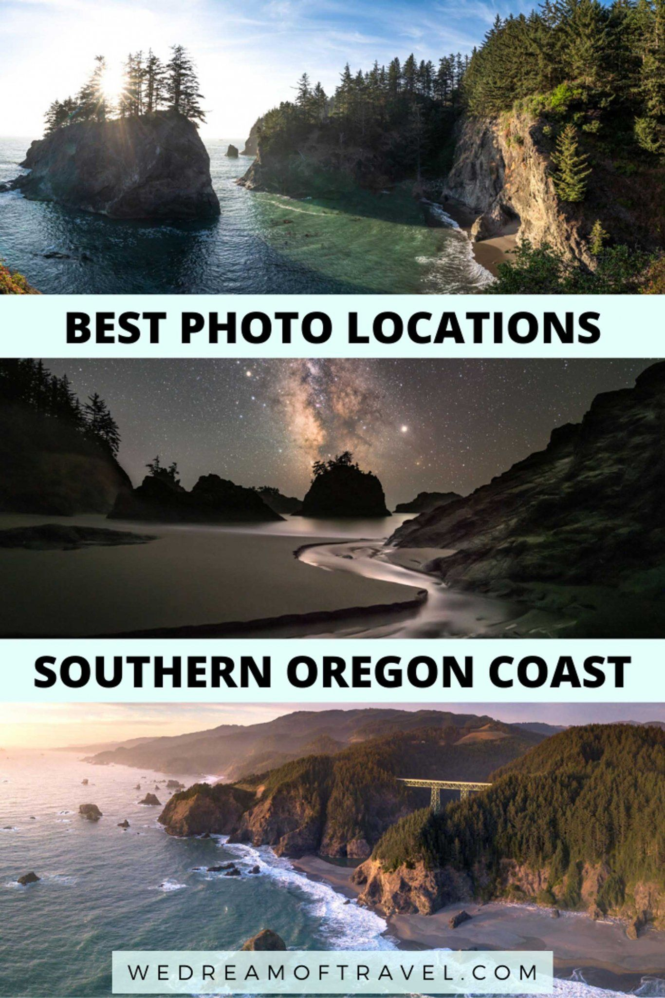 Best Photo Locations Southern Oregon Coast