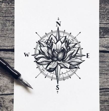 Photo of 27+ Trendy Tattoo Compass Mandala How To Draw