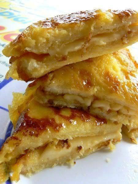 Roti Bakar Telur Bersama Keju Resepi Mudah Dan Ringkas Resep Rotis Makanan Resep Masakan Malaysia