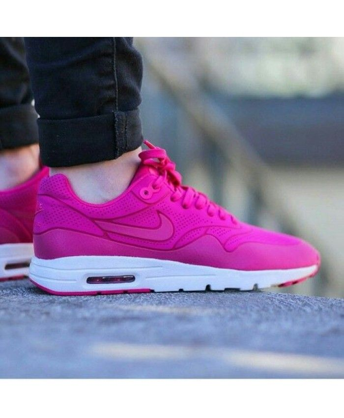 low priced 41f99 68d21 Nike Air Max 1 Ultra Moire Pink Womens NIKE349
