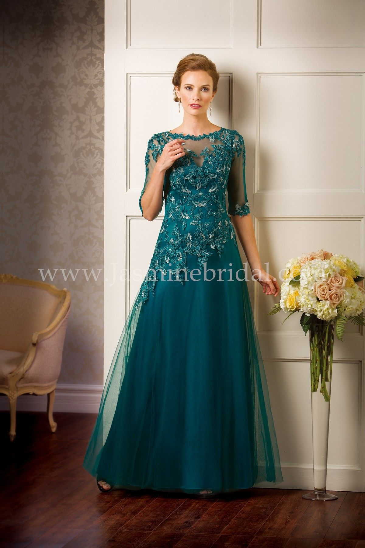 Jade Couture Evening Gowns