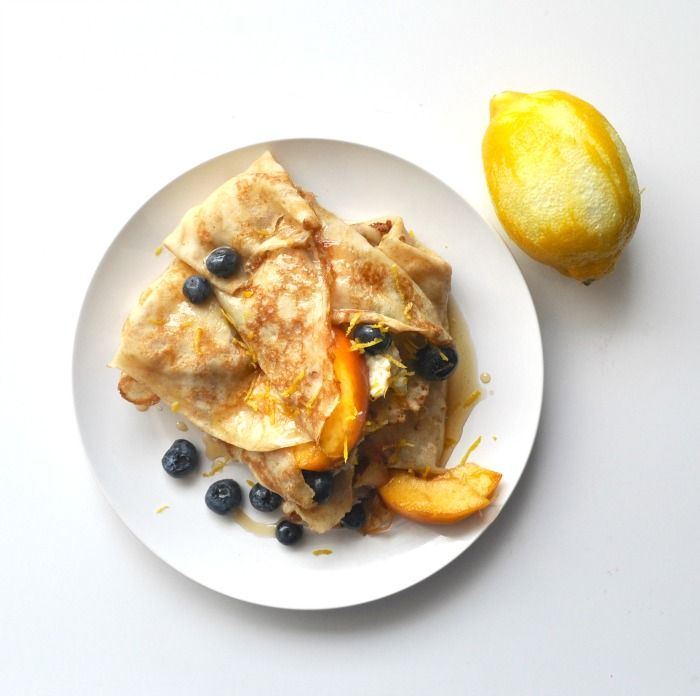 Summer Crepes with Ricotta