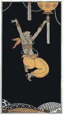 George Barbier, Nijinsky (in Schéhérazade, Paris, 1910), 1913