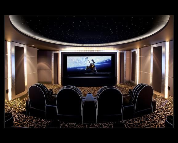 15 High End Home Theater Designs | HGTVRemodels.com