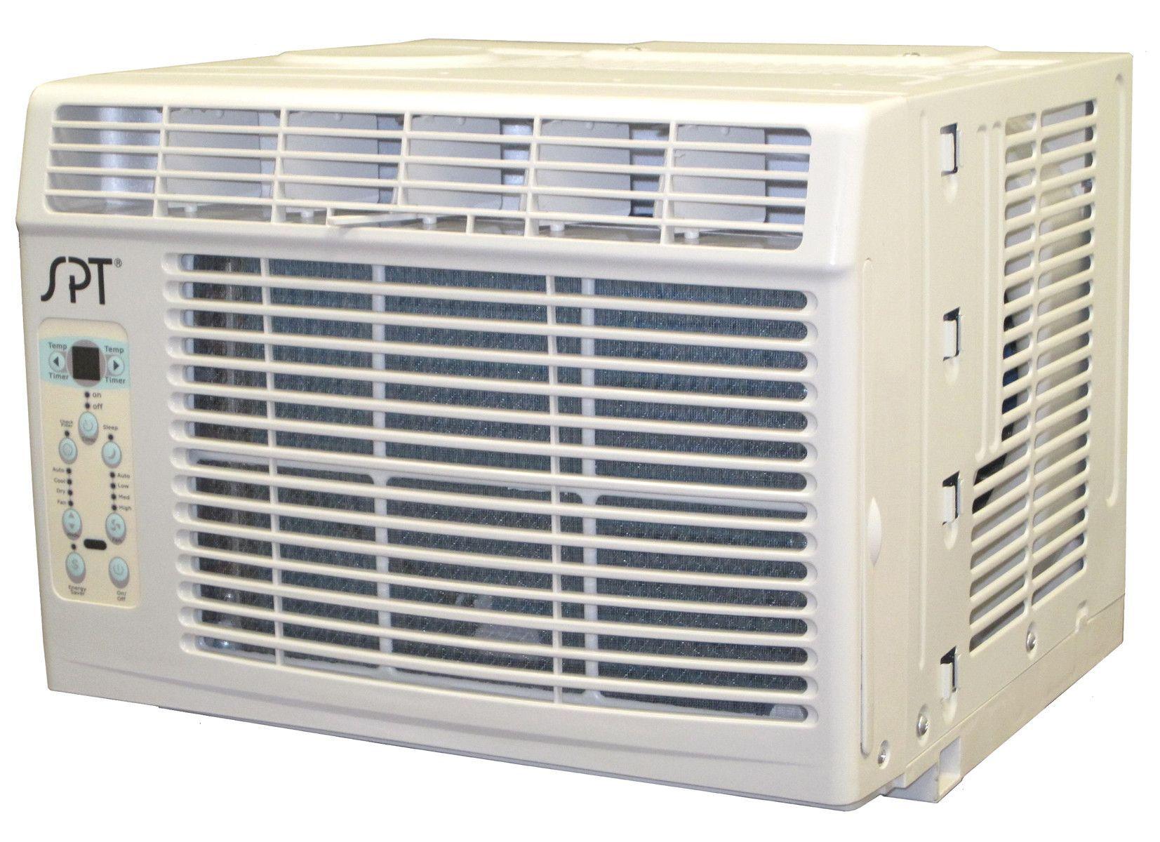 6000 BTU Energy Efficient Window Air Conditioner with Remote
