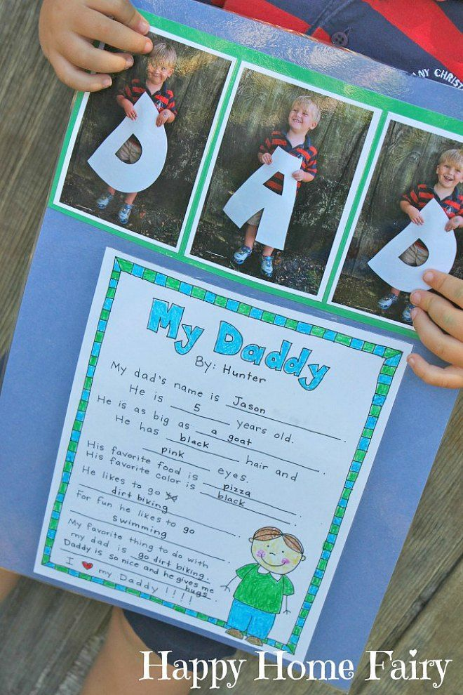 12 Easy Father's Day Crafts For Preschoolers To Make ...