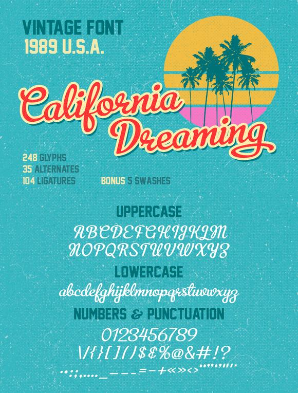 California Dreaming by Annenkov Dmitriy on Creative Market