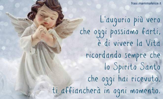 Frase Cresima Con Lo Spirito Santo Non Sei Piu Solo Spirito