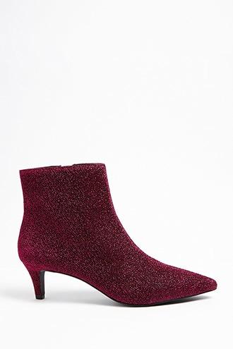 Metallic Kitten Heel Ankle Boots Kitten Heel Ankle Boots Kitten Heels Metallic Ankle Boots