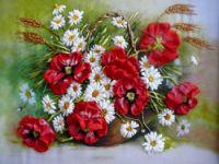 Gallery.ru / Фото #12 - Вышивка лентами часть 3 - silkfantasy