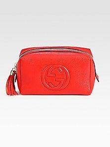 22099c73924 Gucci - Soho Medium Leather Cosmetic Case