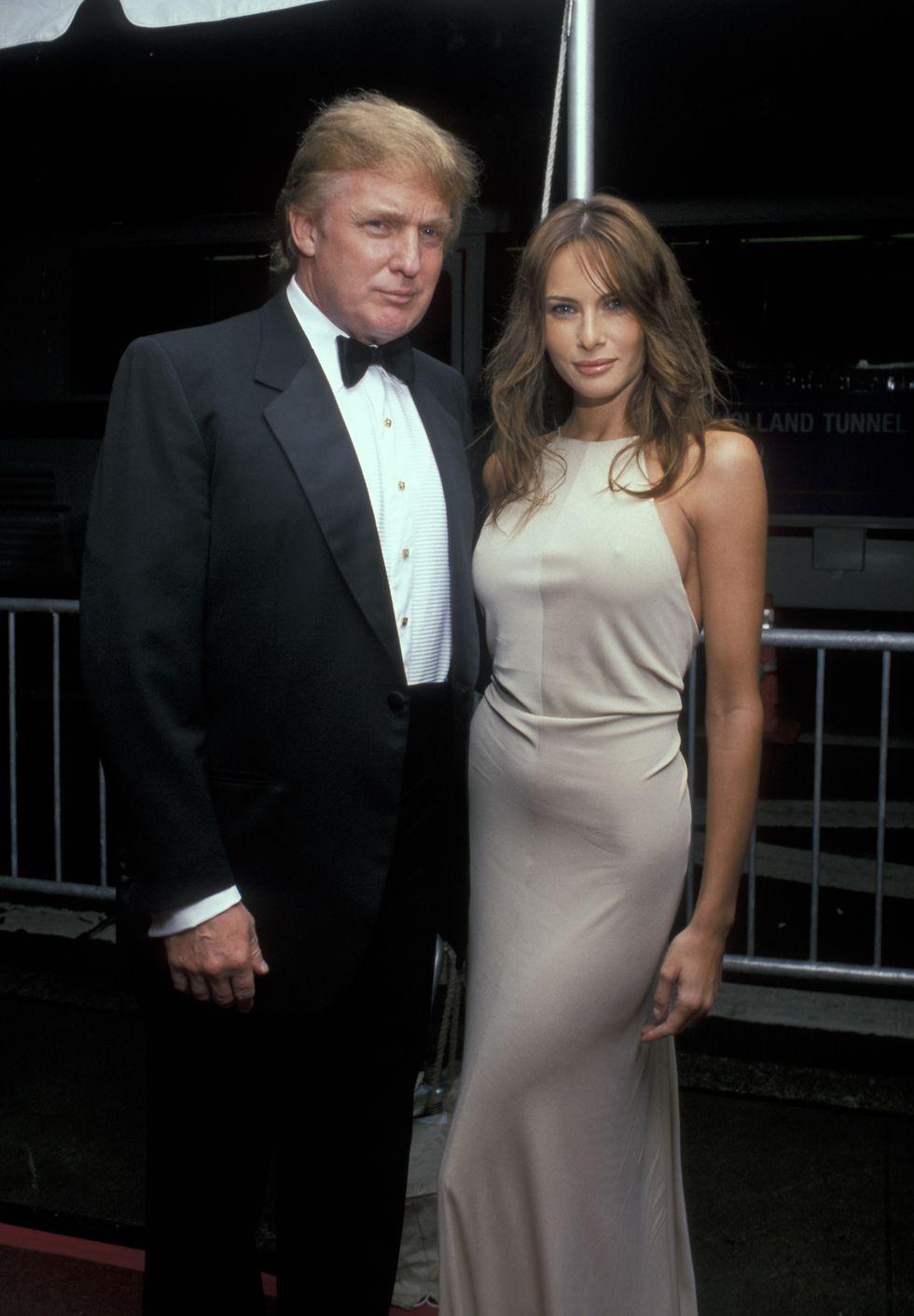 Melania Trump Wears A Yellow Dior Gown To Meet The Australian Prime Minister Trump Fashion Ivanka Trump Style Milania Trump Style