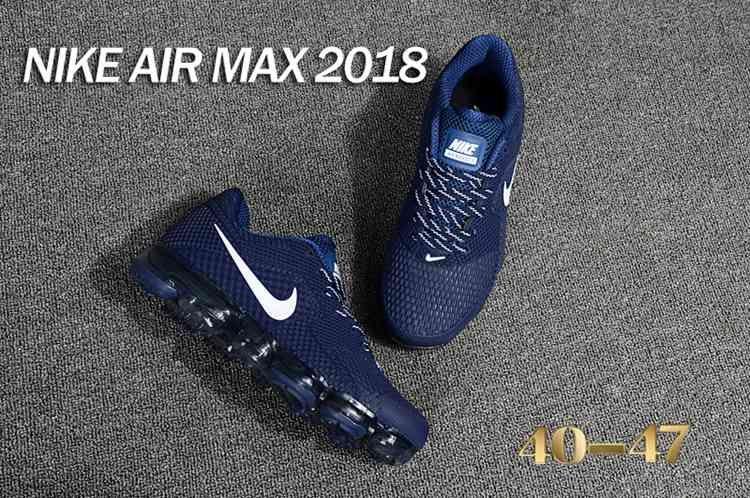 Nike 2018 KPU +5 Nike Air Vapor MAX 2018 +5 KPU Men Navy