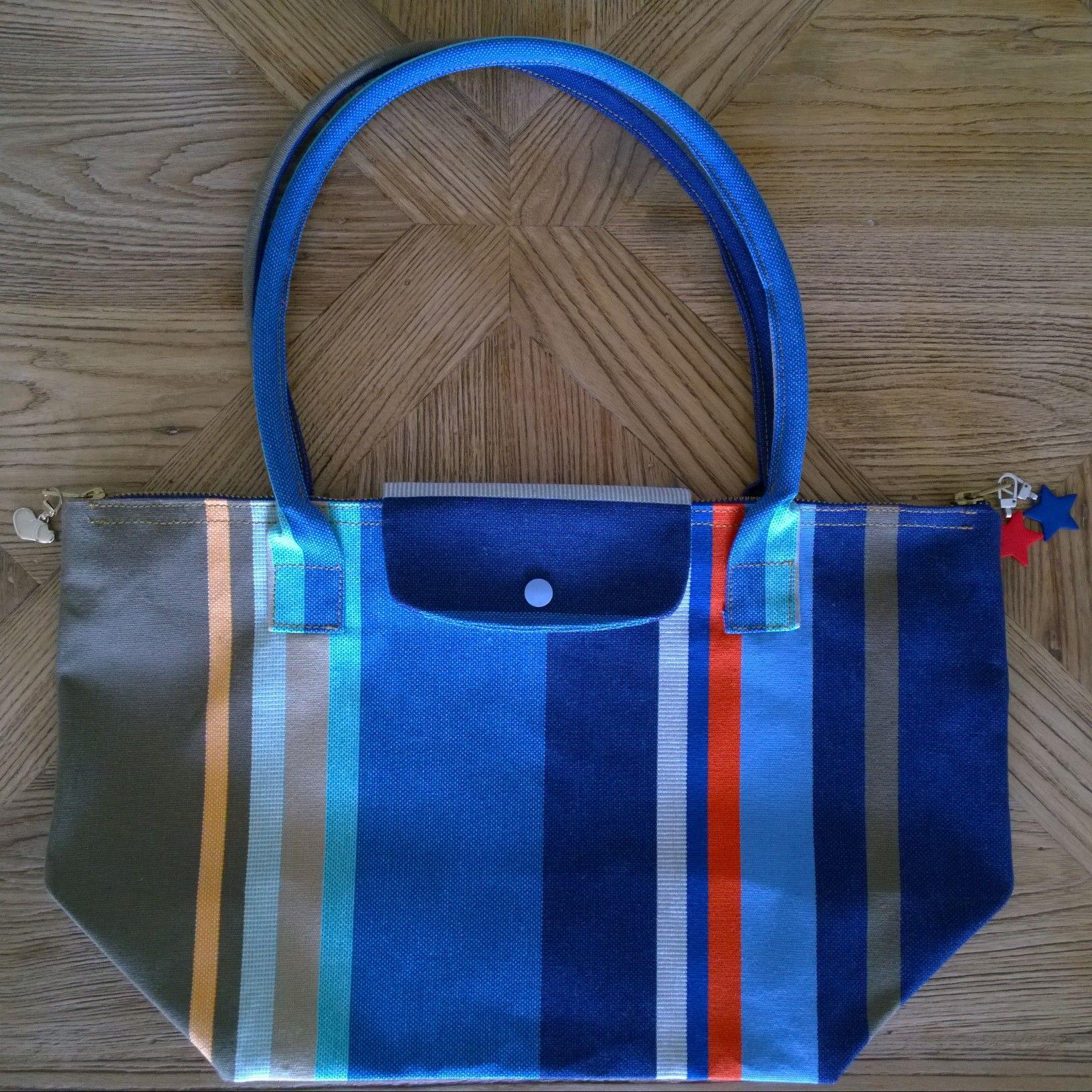 3861e1048b Longchamp ®Vêtements Pliage DiyLe Et De Plage Tuto Façon Sac Ny0mnO8wv