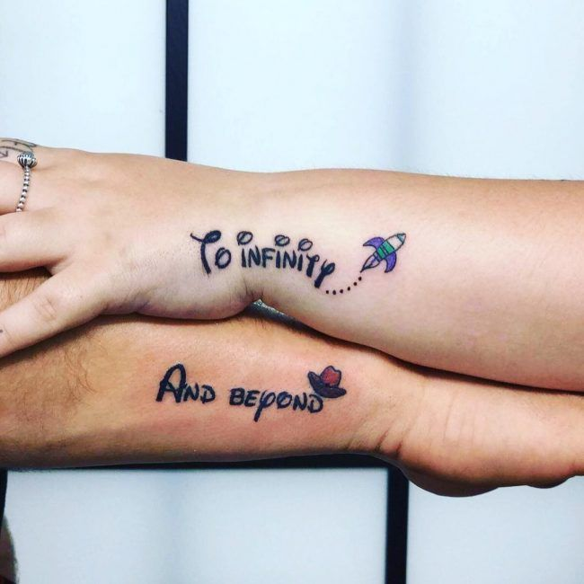 120 Cutest His And Hers Tattoo Ideas Make Your Bond Stronger With Images Him And Her Tattoos Strong Tattoos Relationship Tattoos