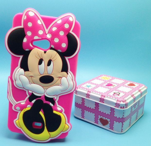 Phone Case For Microsoft Nokia Lumia 535 Case Cartoon Minnie Stitch Minion Sulley Cheshire Cat Soft Silicone Cover Case
