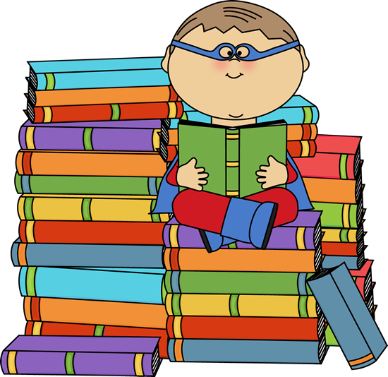 super hero reading boy superhero bookworm clip art image boy rh pinterest com au