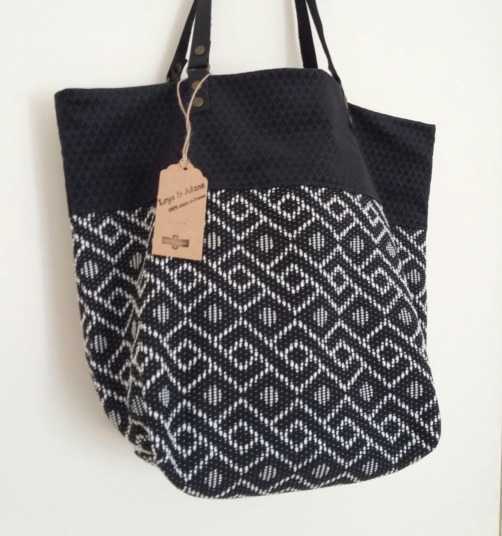 Sac Cabas Natalisac Reversible Sac A Main Sac Urban Bags Bags Purses And Bags