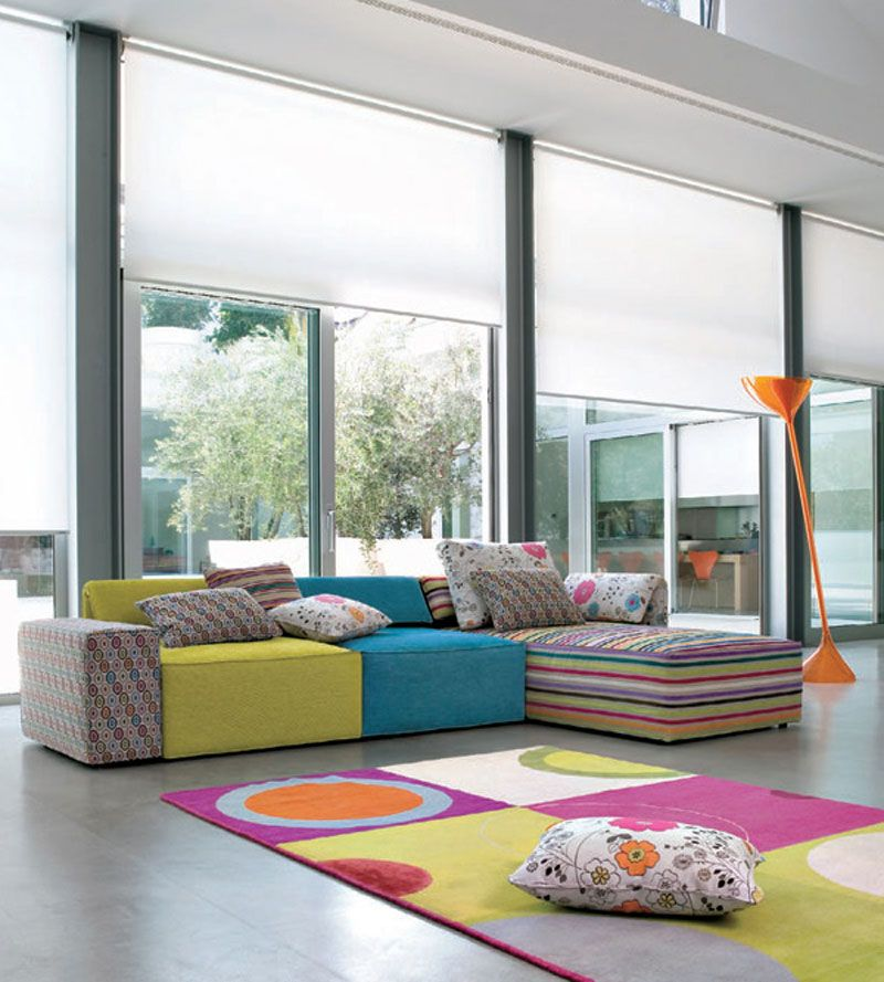 This Is Not Your Standard Sofa Set Its Interior Design Inspiration From Kube By Linea Italia For Living Room Ideas