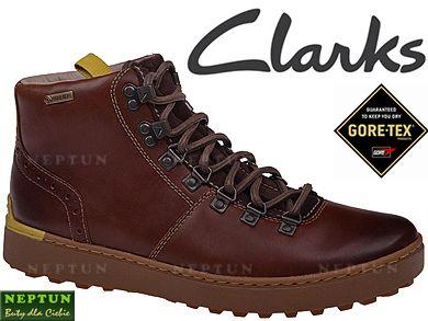 Clarks Nanu Hike Gore Tex R 43 Uk 9 Trzewiki Skora Clarks Hiking Boots Boots