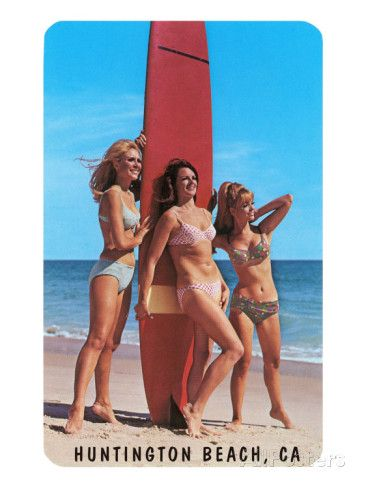 Resultat d'imatges de california huntinton beach girls surfers
