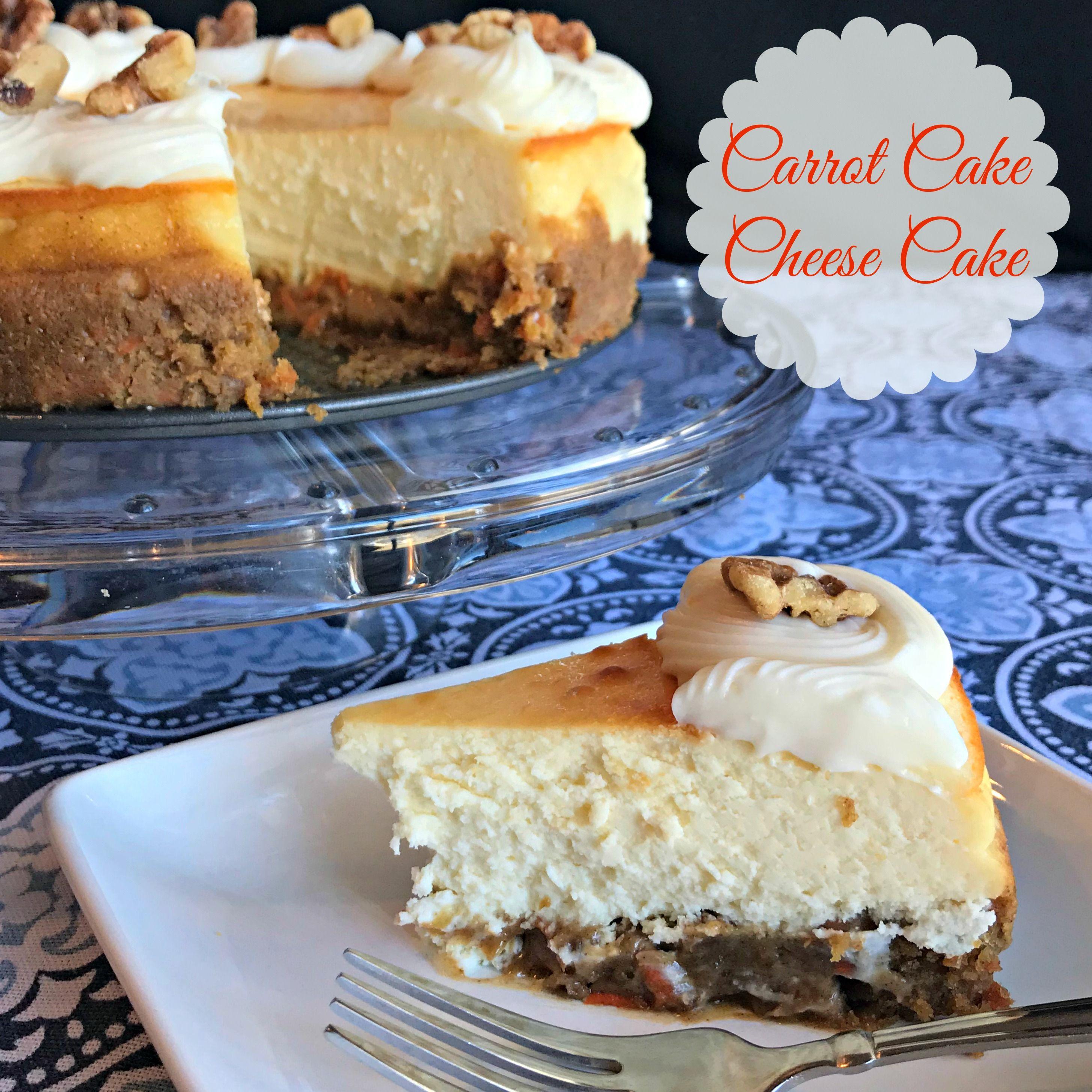 Carrot cake cheesecake recipe carrot cake cheesecake
