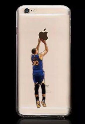 promo code 0f6da 8d41e Stephen Curry Transparent Case for Apple Iphone 6 Design 2 ...