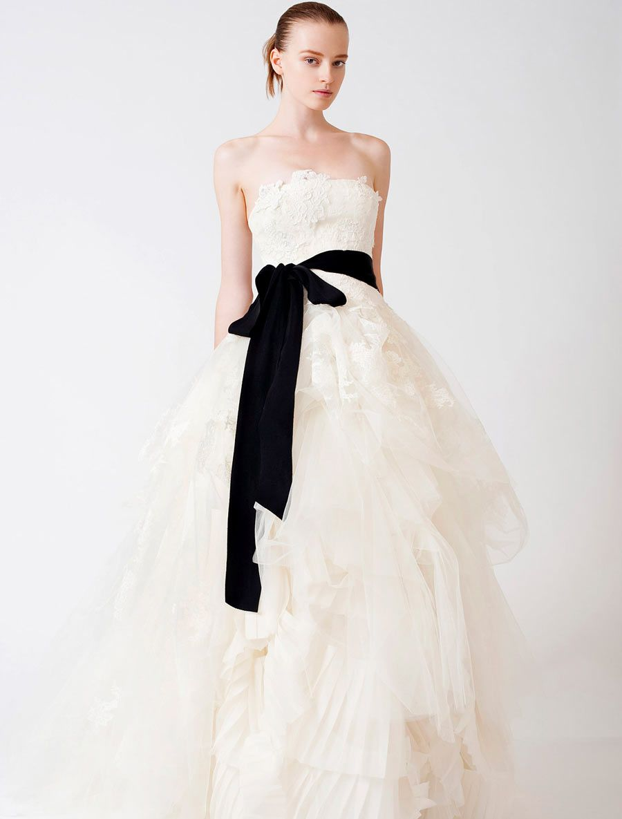 Vera wang ball gown wedding dress  Vera Wang Luxe Eliza Couture Bridal Gown  something wedding
