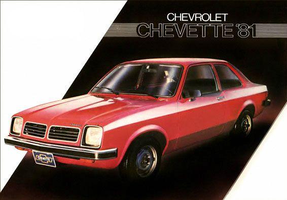 Chevette 1981 Cars Trucks Chevrolet Modified Cars